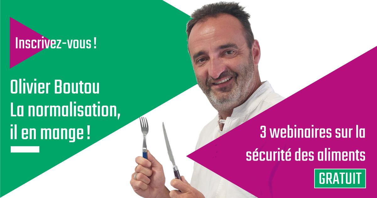 Inscrivez-vous! – Le RNF vous invite à une série de 3 webinaires sur la sécurité des aliments avec Olivier Boutou